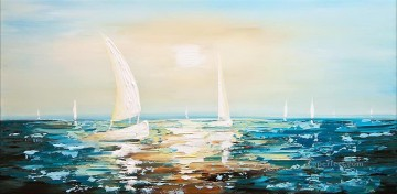 abstract seascape 026 Oil Paintings